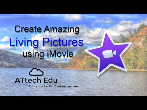 Create Amazing Living Photos on iMovie - Using Green Screen and Keynote - Build a Living Picture