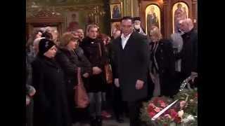 შს მინისტრი გარდაცვლილი პოლიციელის გიორგი ბერუაშვილის დაკრძალვაზე