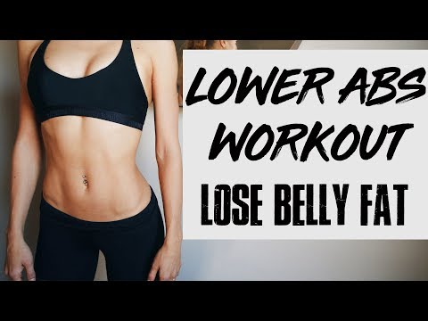 10 min Lower Abs Workout   LOSE LOWER BELLY FAT