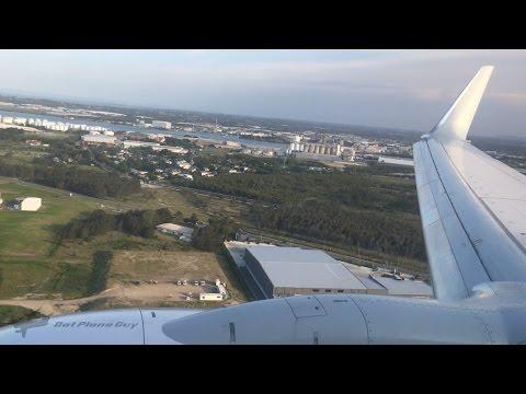 Sunset Qantas 737-838(WL) Landing at Brisbane Airport