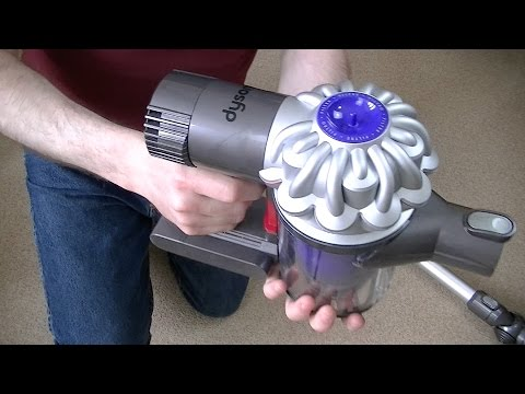 Dyson V6 Cordless Vacuum Cleaner unboxing & First Look