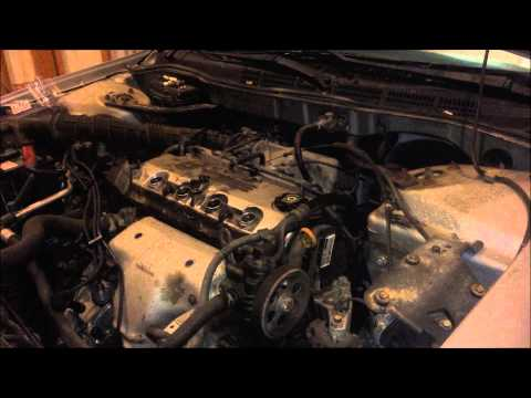 1998-2002 Honda Accord Tune Up Spark Plug and Wire Replacement (F23A1 and F23A4 Engines)