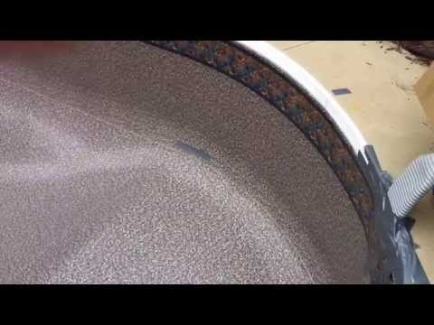 How to install a pool liner - The vacuum stage