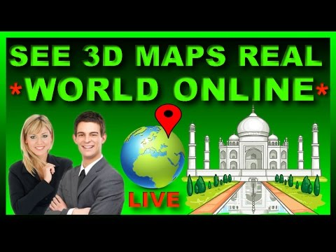 How to See 3D Street View on Google Maps 🌍 |3d Real World Online on Google Earth Satellite| [Hindi]