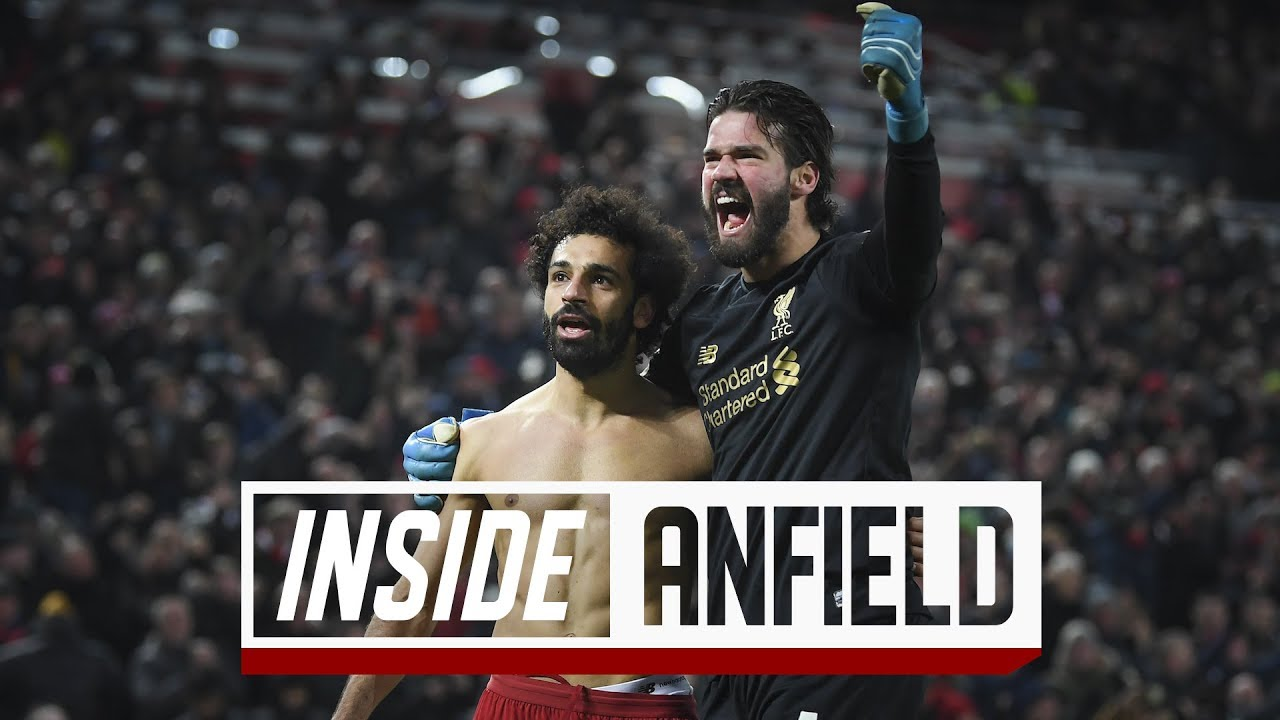 Inside Anfield: Liverpool 2-0 Manchester United   Incredible scenes after Salah's late strike
