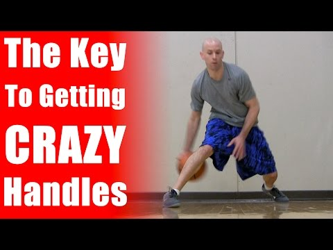 How To Get Crazy Handles In Basketball - Basketball Moves: Freestyle Dribbling Basketball Drills