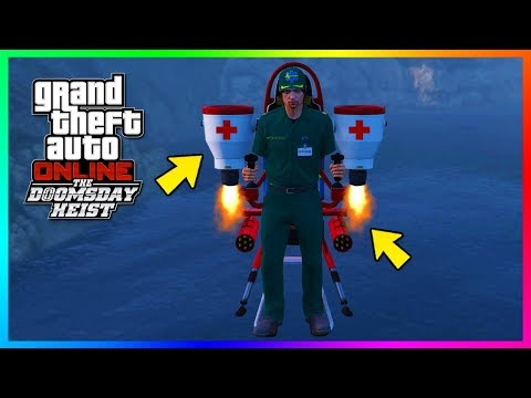 GTA Online The Doomsday Heist DLC - How To Get/Save The Paramedic Outfit In Free Mode! (GTA 5 DLC)