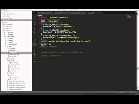part 3. php-mysqli: insert