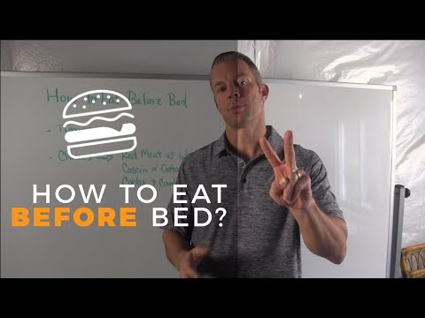 How to Eat Before Bed For Faster Fat Loss (How to Lose Weight While You Sleep)