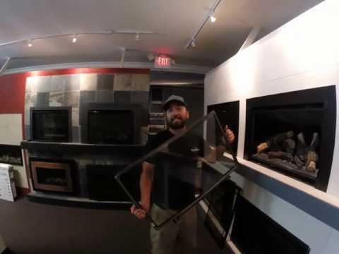 Kozy Heat Gas Insert Glass/Screen Removal Tutorial