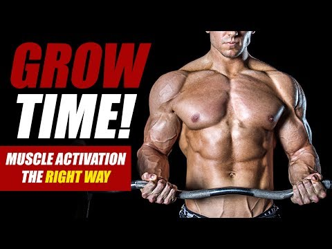 How To Increase Muscle Activation for Growth - Mitch Muller