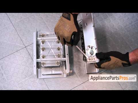Dryer Heating Element (part #279838)-How To Replace
