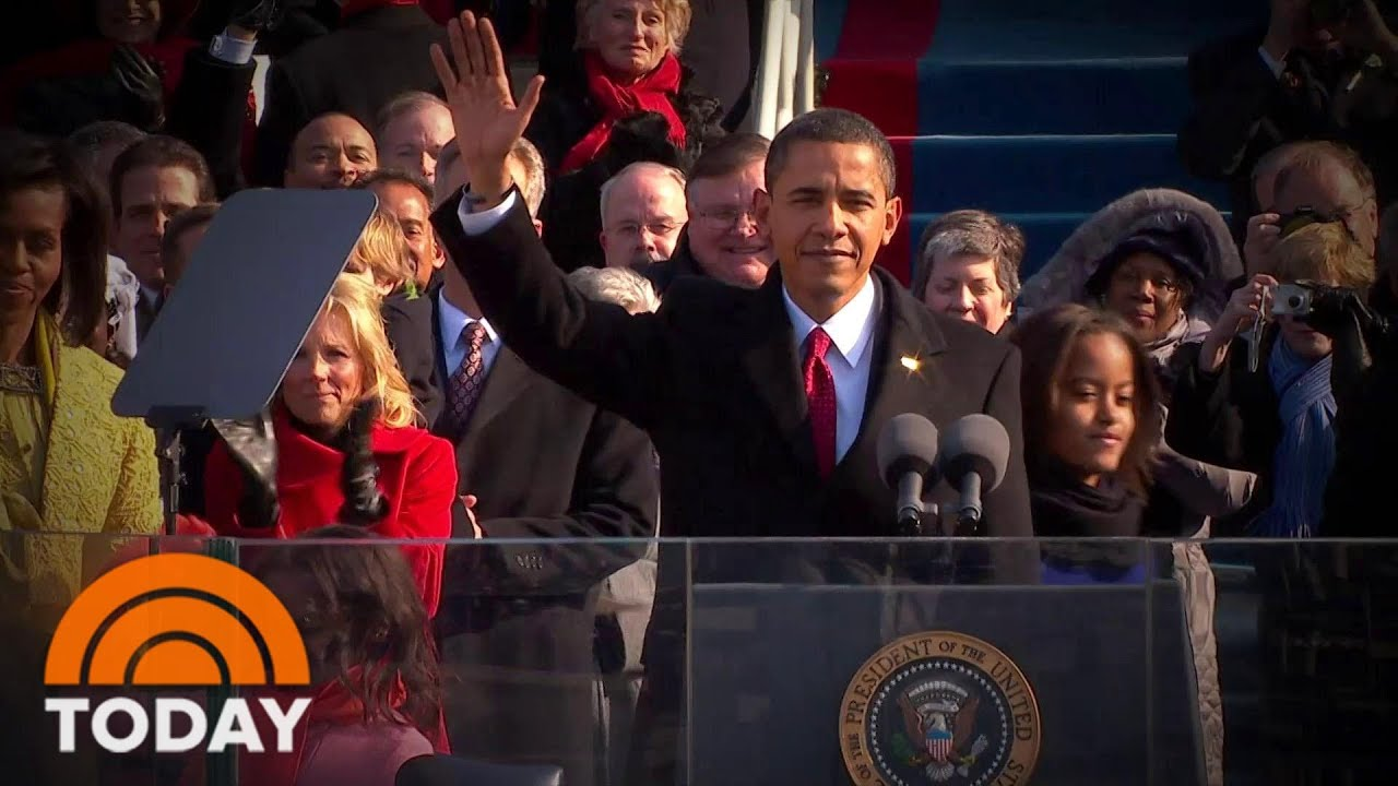 Inaugural Addresses Have Defined Presidencies: A Look Back | TODAY