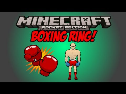 Boxing Ring Map Review! - Minecraft Pocket Edition