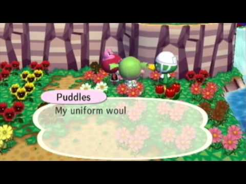 Animal Crossing City Folk - Scoot and Puddles
