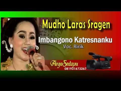 Lirik Lagu IMBANGONO KATRESNANKU Sragenan Karawitan Campursari - AnekaNews.net