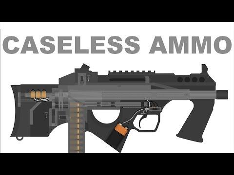 Futuristic Caseless Ammo SMG Demo