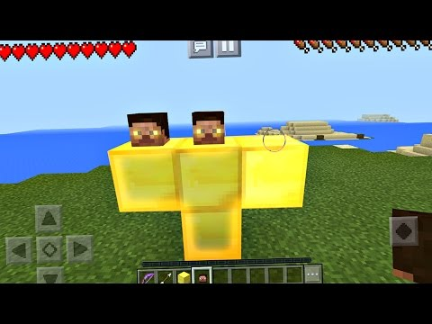 How to Spawn the God Boss in Minecraft Pocket Edition (Boss Fight)