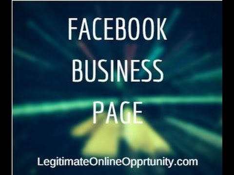 How to Create Facebook Business Page: Video Tutorial