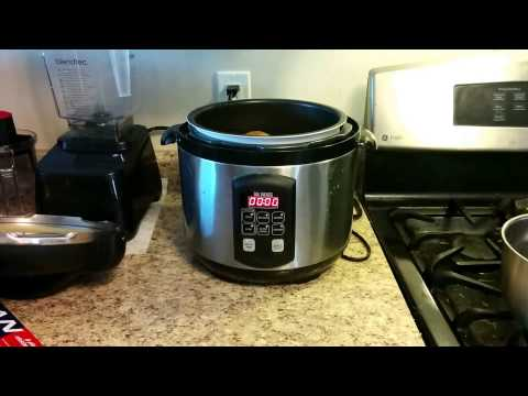 How to Baked a Potato in the pressure cooker.
