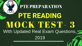 PTE Reading Mock Test - 6 With Answers - PakVim net HD