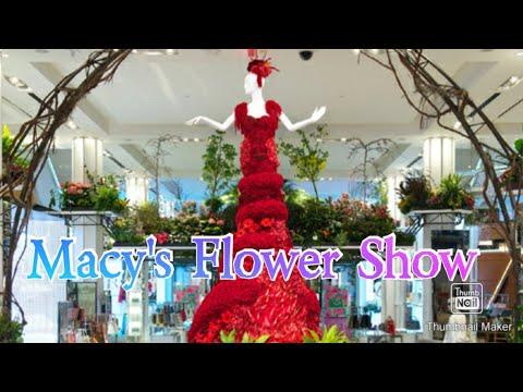 Beautiful Flower Show Macy's New York 2018