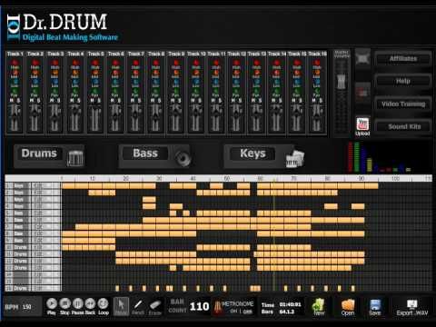 How To Make Dubstep - Dr Drum Beat Making Software