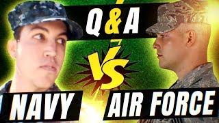 Air Force vs Navy Q&A
