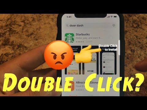 😡Double Click to Install in App Store for Apple iPhone X or iPhone 10 Can't Download Apps Quick DIY