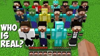 Which ONE is the REAL HEROBRINE in Minecraft ! Who is REAL HEROBRINE ?