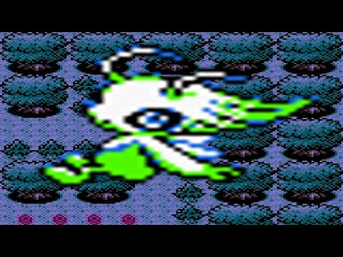 How to find Celebi in Pokemon Crystal (w/ Gameshark)