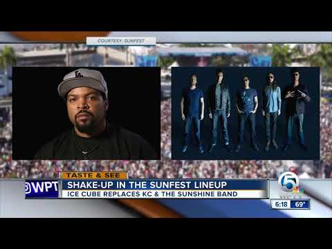 Big Changes at SunFest's Saturday Lineup