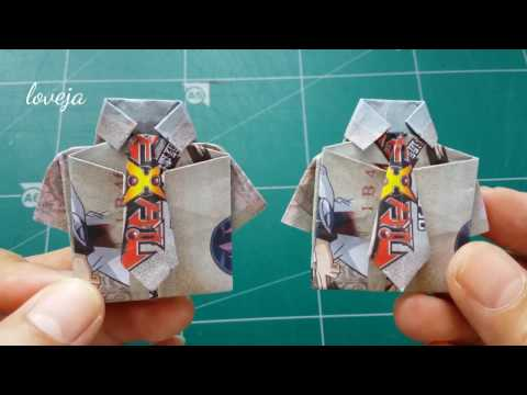 DIY How To Make A Money Shirt (With Necktie)