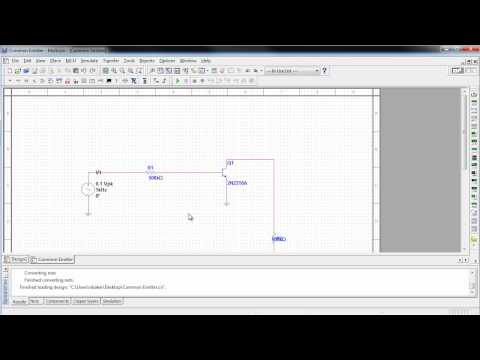 How to Import a SPICE Netlist for Simulation in NI Multisim