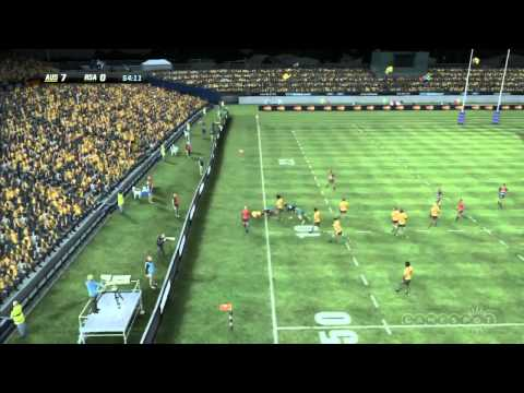 Australia vs. South Africa RWC 2011 Simulation Match (Xbox 360)
