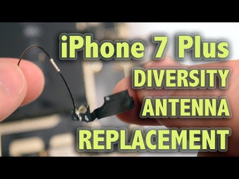 iPhone 7 Plus WiFi Diversity Antenna Replacement