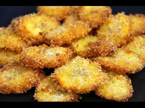 Panko Crusted Fried Plantains - BONUS Recipe | CaribbeanPot com