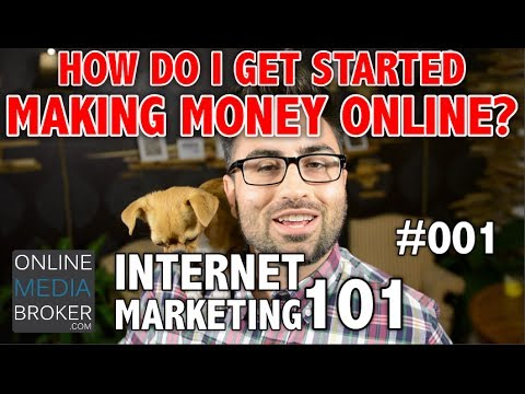 Internet Marketing 101 How To Start Making Money Online - Google Adsense alternative