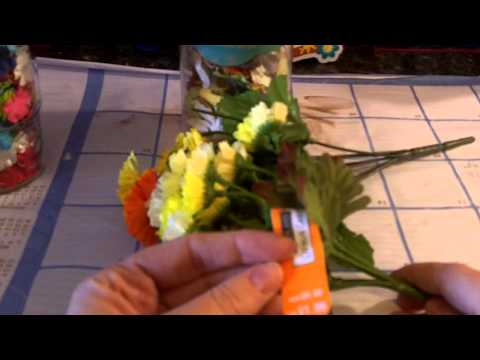 Money Saving quick tip on Flower Embellishments for card making and Scrapbooking!