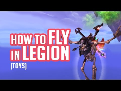Guide to Highmountain Toys - How to fly in Legion