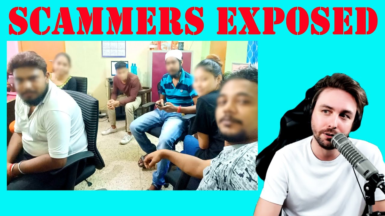 Showing a Scammer Call Center their Photos!