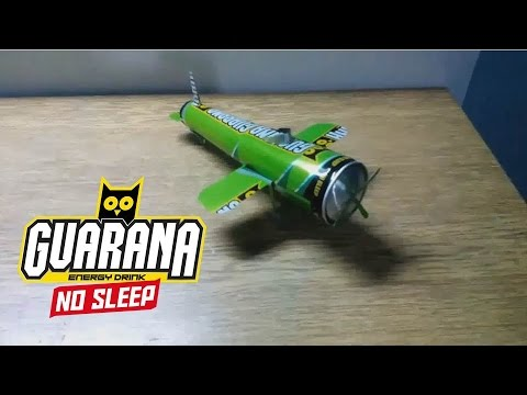 How to make Airplane from cans (Sponsored by Guarana)