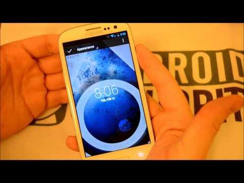 DashClock Review - Android 4.2 lockscreen clock