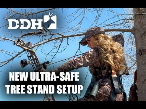 Safe, Stable Tree Stand Setup From Rivers Edge