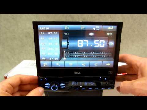 Boss In Dash DVD Receiver Review BV9967B with bluetooth