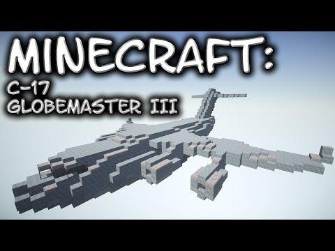 Minecraft: C-17 Globemaster III Tutorial