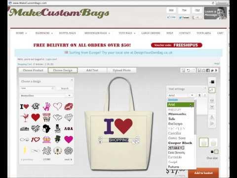Custom Bags - Design Your OWN Custom Bags Online!