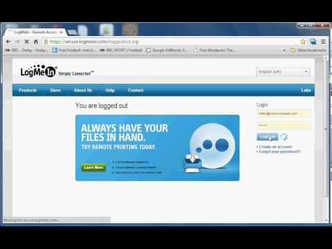 How to remotely control a computer for FREE with LogMeIn