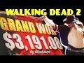 Download  ★GRAND JACKPOT SIGHTING★ The WALKING DEAD 2 slot machine BIG BONUS WINS! MP3,3GP,MP4