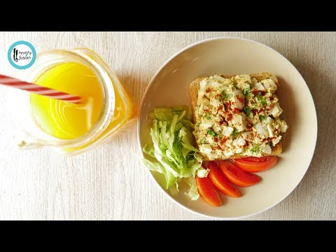 Quick Egg Salad Sandwich Recipe By Healthy Food Fusion